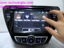 Ouchuangbo car vehicle stereo gps radio player android 4.2 sytem