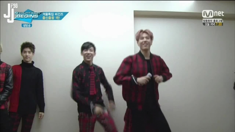 [150122] M Countdown Begins Backstage GOT7 Cut [русс.саб]