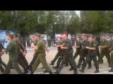 На плацу: 2-ой взвод курсантов КПОЗ ЧВВМУ в 810 ОБрМП ЧФ (в/ч 13140, бухта Казачья - Севастополь)