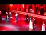 Гимназии 56 сегодня 09.02.15.25 лет.Мой сын Георгий Абрамов с друзьями на сцене БКЗ Октябрьского.