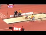 Прыжок в длину у Анны 6,15 лучший среди многоборок