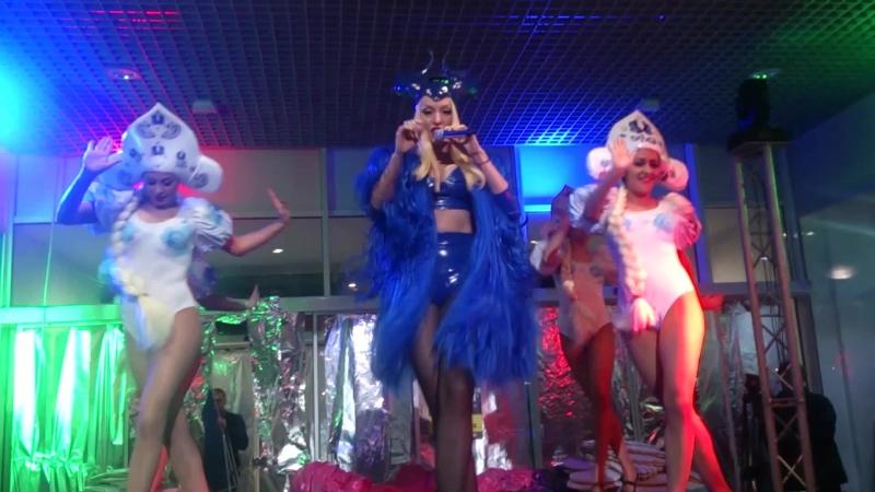 Оля Полякова,концерт ,Сити центр (Котовский,Одесса) 14.02.2015