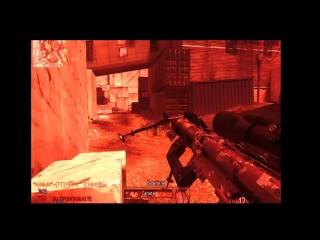 мое первое видео из cod mw2