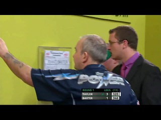 Phil Taylor vs Ronnie Baxter (Players Championship Finals 2014 / Round 1)