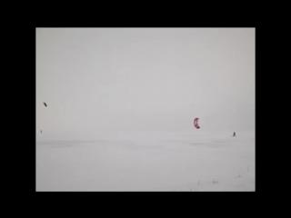Snowkiting в Ливнах