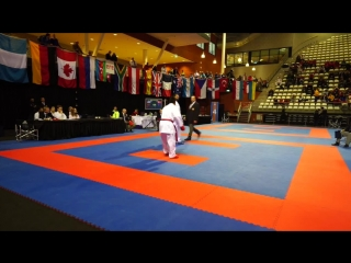 Karate1 Almere 2015 | Qualification +84kg | ATAMOV SHAHIN (AZE) VS SAHINTEKIN YASER (TUR)