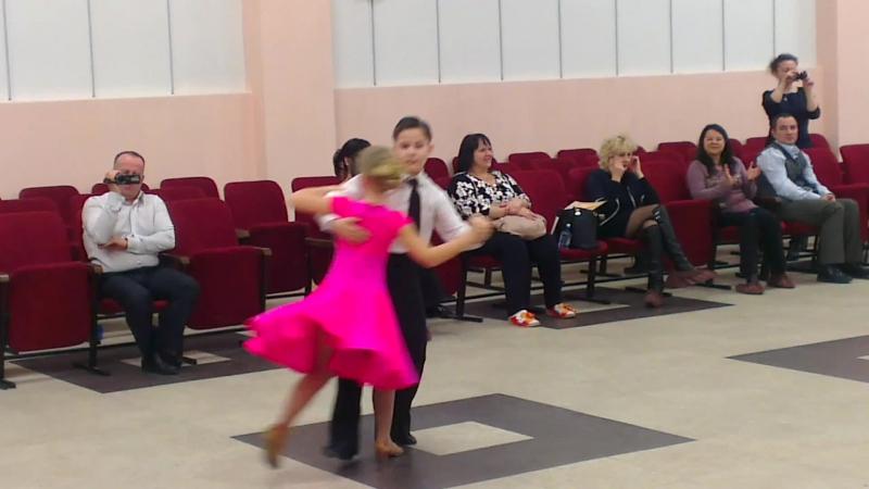 Безгачев Руслан и Первушина Ксения-венский вальс
