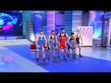 Смешной танец Команды КВН Сборная СНГ по вольной борьбе