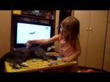 Учись на кошках, операция Ы, Будущий врач.(При съемке кот не пострадал)