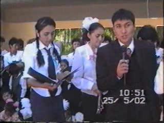 Выпускной 2002 год. 49 выпуск часть 1