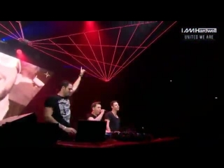 Hardwell & W&W feat. Fatman Scoop - Don't Stop The Madness live @ IAMHARDWELL United We Are