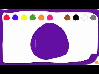 Видео - учим цвета на английском языке