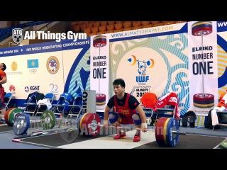 85kg Clean & Jerk Warm-up Area 2014 World Championships