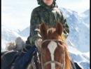 """Вечные горы. Вне времени. Перевал Кара-Тюрек (Чёрное сердце) и наши следы на снегу. Фрагмент из фильма """"3 + 3"""""""