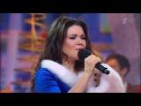 Дина Гарипова-- Снежинка (Новогодняя ночь на Первом 2015)