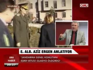 Aziz Ergen | Eşref Bitlis Suikastı ve ABD'li Albay'a Geçirdiği Çuval 26 Mart 2015