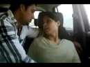 young couples enjoyed in car part i