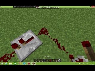 Minecraft 1 6 2 Механизмы ловушки и баги Часть 23 Огненная турель