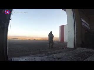 НовороссияТВ Бои «сомалийцев» в донецком аэропорту (12112014)