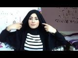 Как завязать волосы под хиджаб (Заходи в группу больше видео там https://vk.com/muslimqueens )