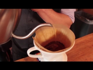 Iced Pour Over Brewing Method