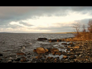 Прогулка по берегу озера Имандра 31.10.14