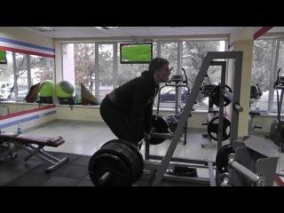 Леха - Тяга с плинтов 250 кг