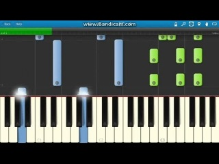 Frozen - Martina Stoessel - Libre Soy Piano Tutorial - Como Tocar - Synthesia