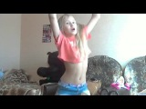 young girl hot dancing
