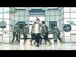 300115 INFINITE H - Go Nowhere + Pretty (Music Bank)