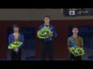 Trophee Eric Bompard 2014 - Medal Ceremony