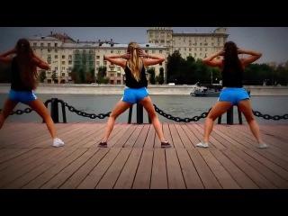 Booty dance\twerk by TWRK team (Tinie Tempah - Trampoline)