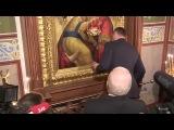 Кличко ударился головой об икону 04.10.2014