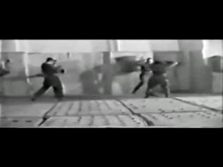 Фрагмент тренировки спецназа