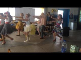 тамада в Сызрани Маруська&МитьКО танец детям от родителей на выпускной 9А класс лицей г. Сызрани