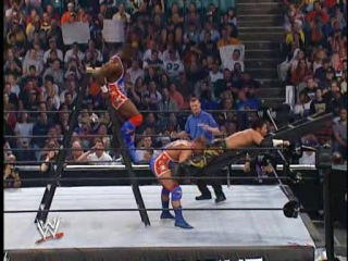 (WWEWM) Judgment Day 2003 - Team Angle (c) vs. Eddie Guerrero & Tajiri (Ladder Ьatch for the WWE Tag Team Championship)