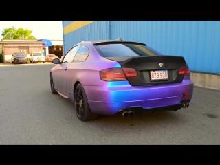 BMW E92 PLASTI DIP Хамелеон Alien