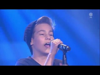Stepan - Only Girl (In The World) - The Voice Kids Germany (Blind Auditions 3) 4.4.2014 HD