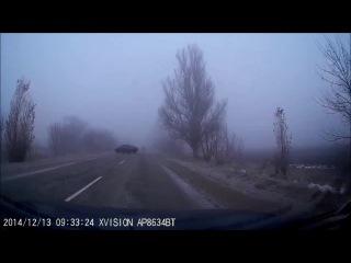 Geely Emgrand всегда остаётся на дороге =))