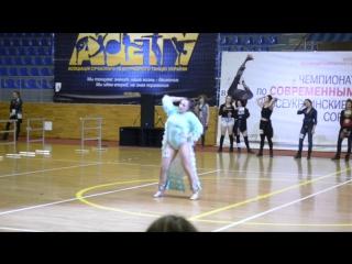 Елена Юрьевна джаз фанк / Чемпионат Украины г. Харьков