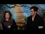 Anna Kendrick and Chris Pine Chat On the Steps of the Palace for Disneys Into the Woods