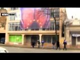 Одесса мама напоминает о себе. Акция в центре города. Вперед в Европопу! 11 февраля