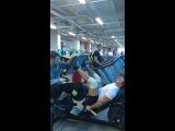 Упражнение качели для накачки мышц ног