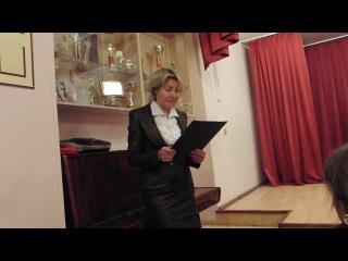 Первый отчетный концерт Алисы в музыкальной школе.