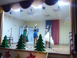 Выступление сестренки в клубе на Новый год 2014)
