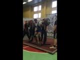 Виктор Балакирев, присед 350 кг.