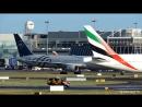 Delta (SKYTEAM) Take Off at Dublin Airport