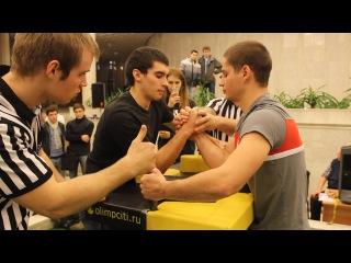 Чемпионат РАНХиГС 2014 Бань Дзодзиев Полуфинал абс