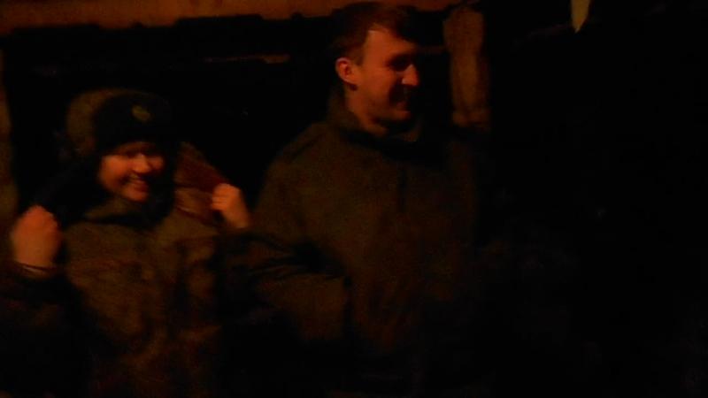 Балашика. военная часть.2день шашлычки 25.01.2015