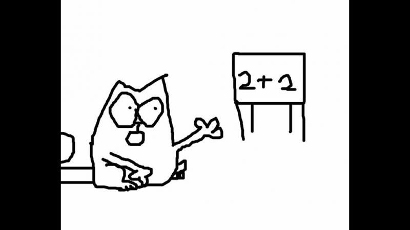 мультик про кота саймона